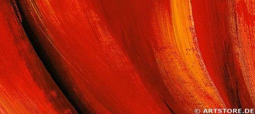 Wandbild Mia Morro RED LIPS Detailausschnitt