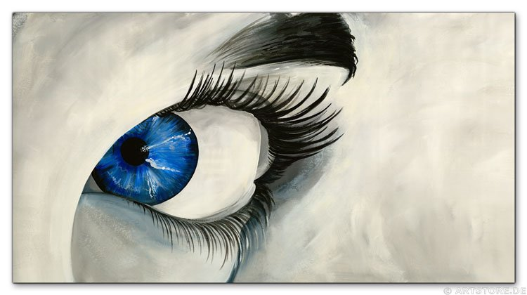 Wandbild Mia Morro BLUE EYE
