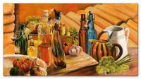 Wandbilder Mia Morro STILLEBEN - Öl, Essig, Wein