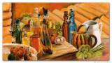 Wandbild Mia Morro STILLEBEN - Öl, Essig, Wein