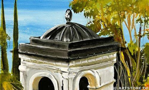 Wandbild Mia Morro VILLA AM MEER Detailausschnitt