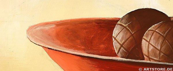 Wandbild Mia Morro STILLEBEN TERRACOTTA Detailausschnitt