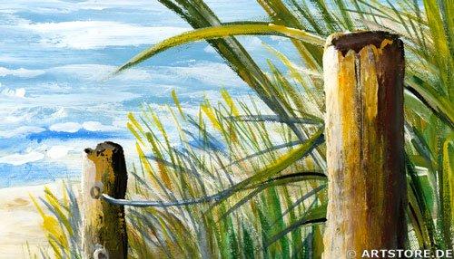 Wandbild Mia Morro MEERBLICK - OSTSEE / NORDSEE Detailausschnitt