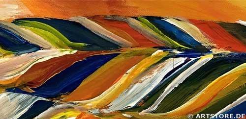 Wandbild Mia Morro MEIN SONNENSCHEIN Detailausschnitt