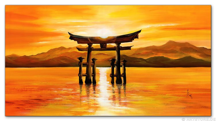 Wandbild Mia Morro TORI JAPAN