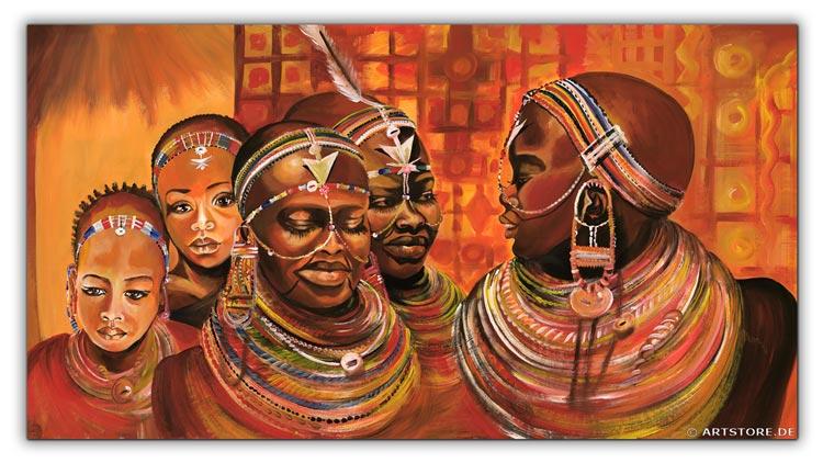 Wandbild Mia Morro AFRIKA MODE