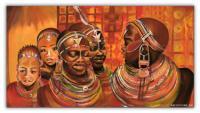 Wandbilder Mia Morro AFRIKA MODE