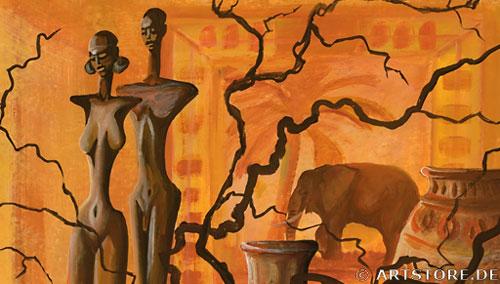 Wandbild Mia Morro STILLEBEN DEKORATION Detailausschnitt