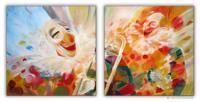 Wandbilder Mia Morro ZIRKUS CLOWNS