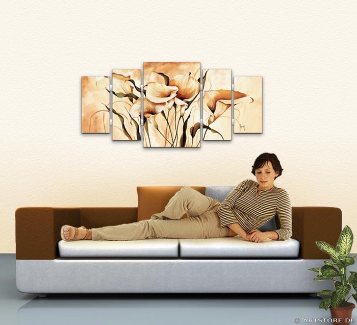 Wandbild Mia Morro CALLAS EDITION Wohnbeispiel