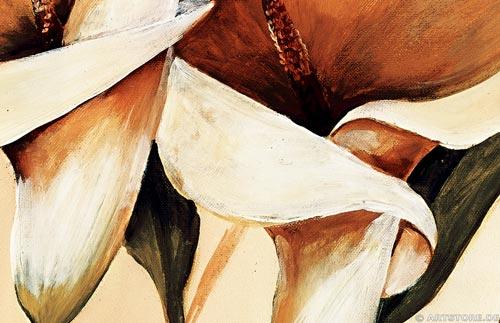 Wandbild Mia Morro CALLAS EDITION Detailausschnitt