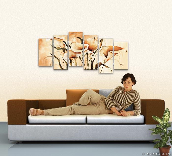 Wandbild Mia Morro CALLAS SPEZIAL Wohnbeispiel