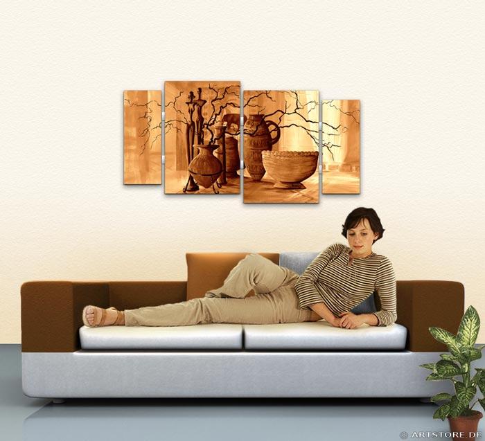 Wandbild Mia Morro STILLEBEN Wohnbeispiel