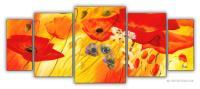 Wandbilder Mia Morro SOMMER BLUMEN EDITION
