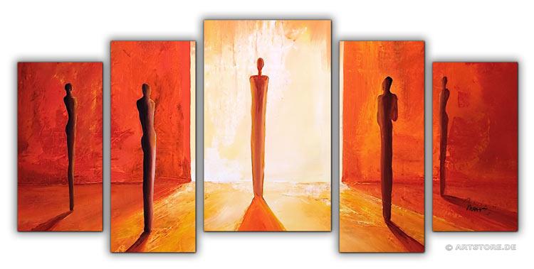 Wandbild Mia Morro INTO THE LIGHT