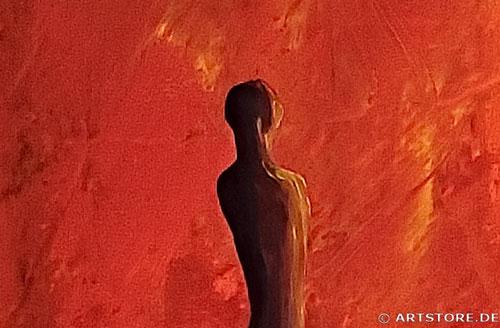 Wandbild Mia Morro INTO THE LIGHT Detailausschnitt