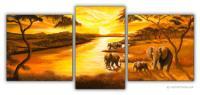 Wandbilder Mia Morro AFRIKA SONNE