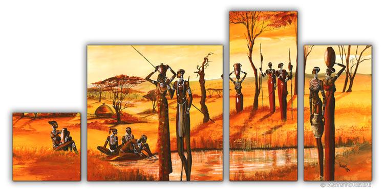 Wandbild Mia Morro MASSAI EDITION