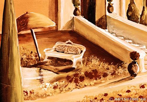 Wandbild Mia Morro TOSKANA EDITION Detailausschnitt