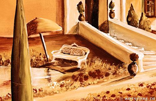 Wandbild Mia Morro TOSKANA Detailausschnitt