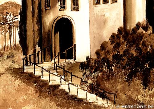 Wandbild Mia Morro TOSKANA MEDITERRAN Detailausschnitt