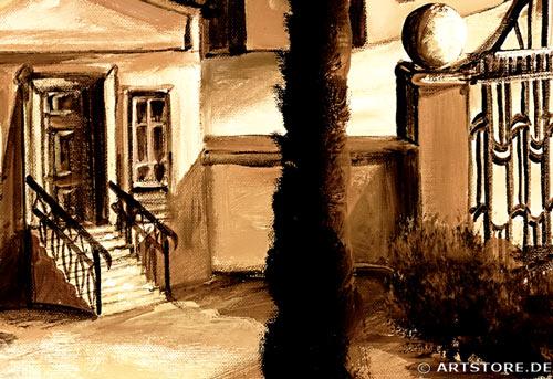 Wandbild Mia Morro ITALIEN EDITION Detailausschnitt