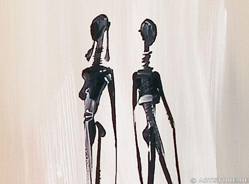 Wandbild Mia Morro COUPLE OF LOVE Detailausschnitt