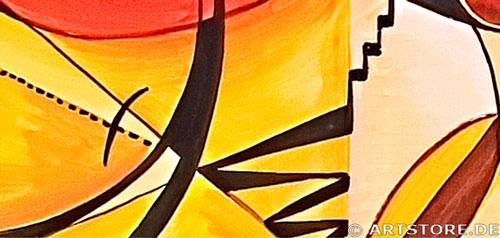 Wandbild Mia Morro ERSCHEINUNG Detailausschnitt