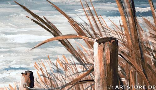 Wandbild Mia Morro MEERBLICK EDITION Detailausschnitt